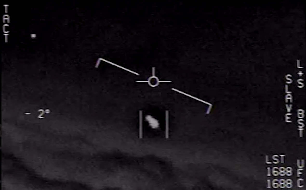 US Navy confirms UFO Footage is Real