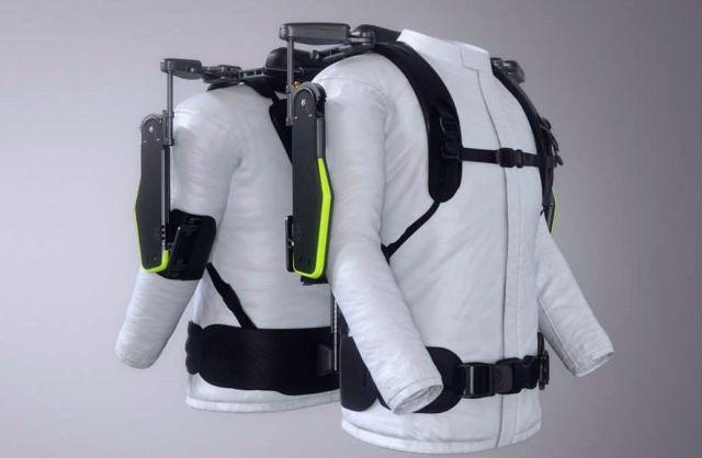 Wearable Vest Exoskeleton for Mechanics