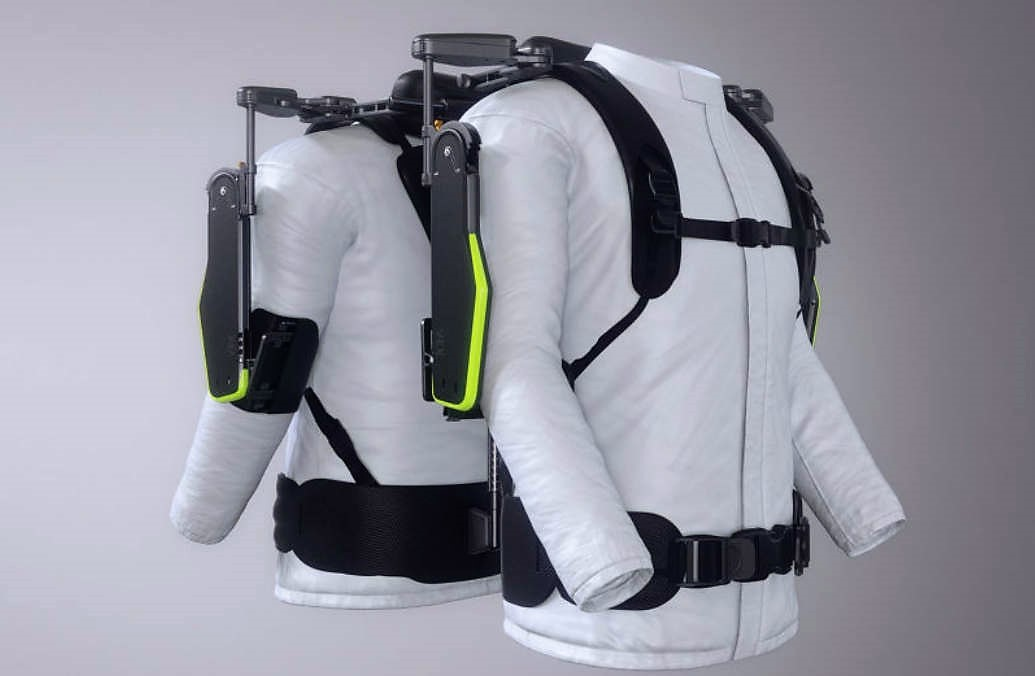 Wearable Vest Exoskeleton for Mechanics