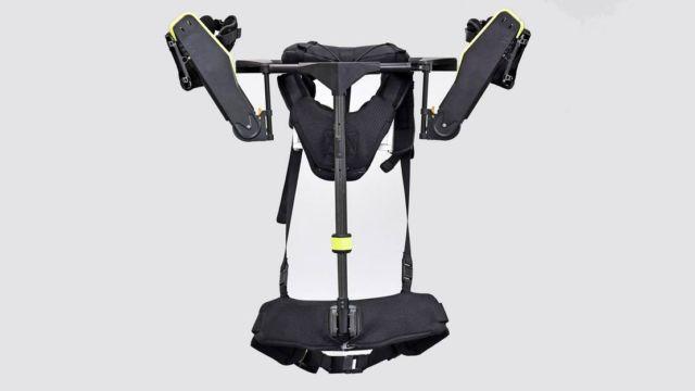 Wearable Vest Exoskeleton for Mechanics (2)