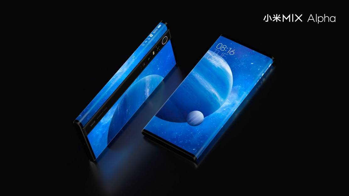 Xiaomi Mi Mix Alpha with world first wrap-around display