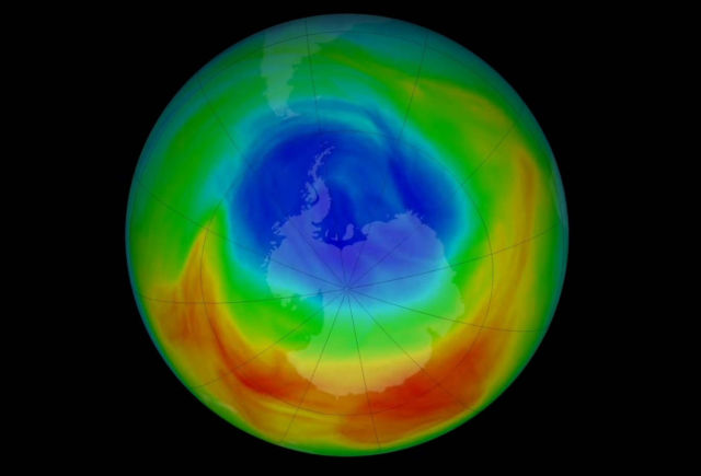 2019 Ozone Hole is the smallest since its Discovery
