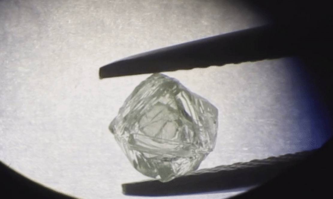 A Diamond with another Diamond Inside discovered