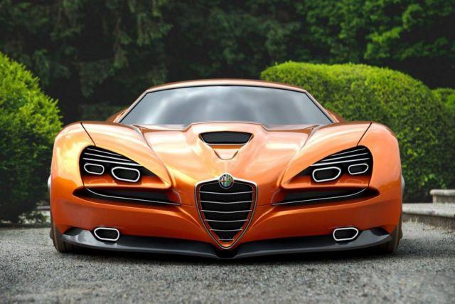 Alfa Romeo Montreal Vision GT Concept (7)