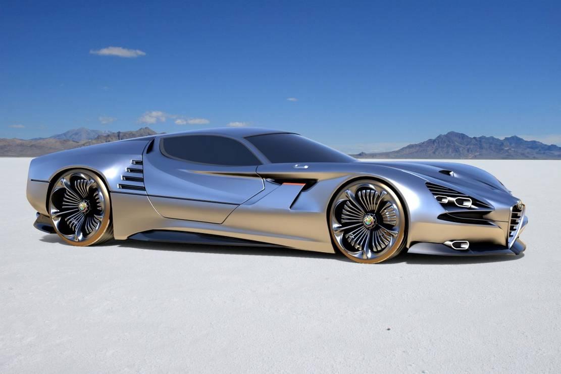 Alfa Romeo Montreal Vision GT Concept (3)