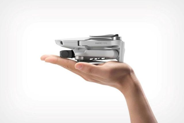 DJI Mavic Mini powerful palm-sized drone