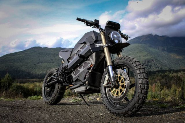 Droog Silent Assassin Motorcycle