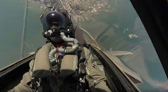 F-35 Demo Over San Francisco