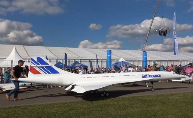 Largest Rc Concorde
