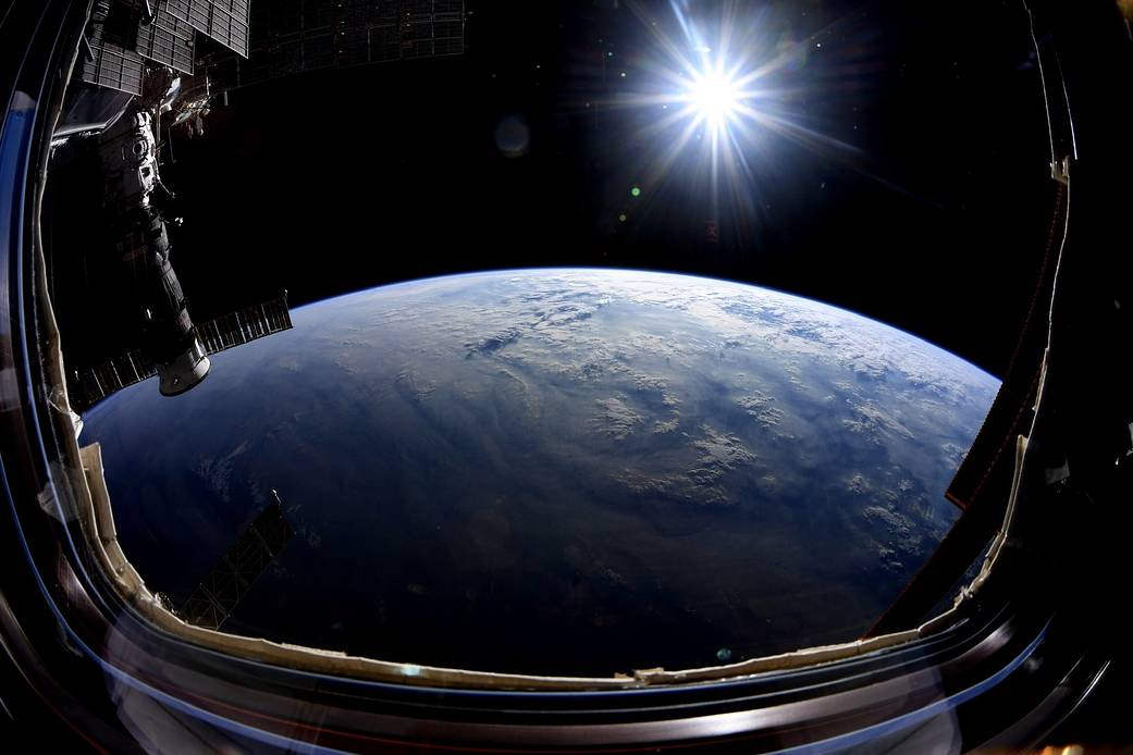 Majestic Earth photo from Space Station
