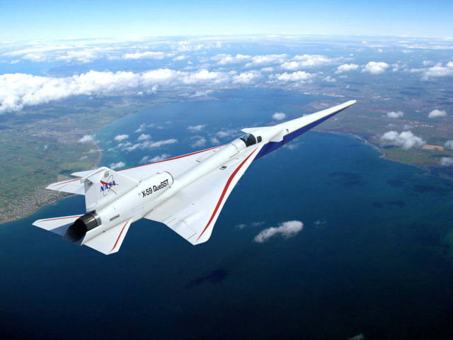 NASA's X-59 QueSST Airplane Takes Shape