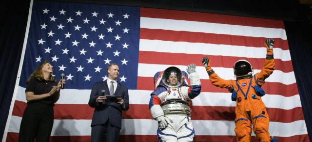NASA's new Spacesuits for the Moon Missions