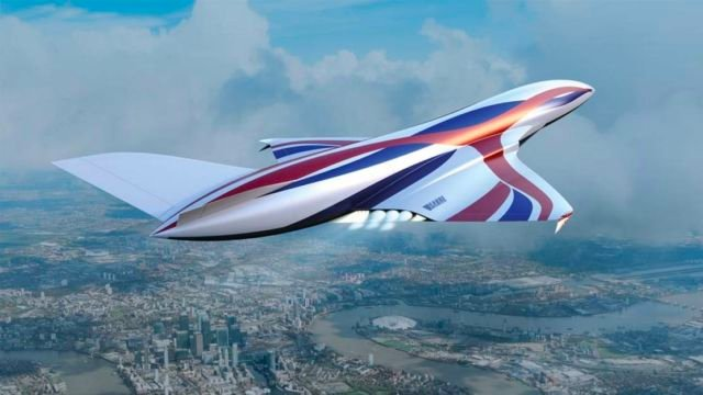 New hypersonic plane