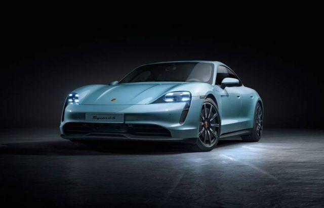 Porsche new Taycan 4S