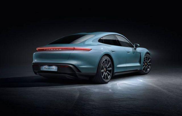 Porsche new Taycan 4S (3)