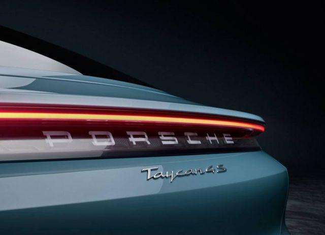 Porsche new Taycan 4S (6)