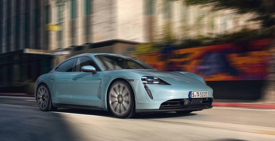 Porsche new Taycan 4S (9)