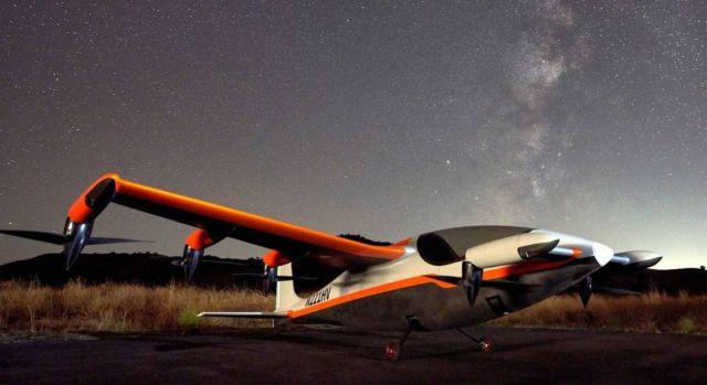Project Heaviside VTOL by Kitty Hawk