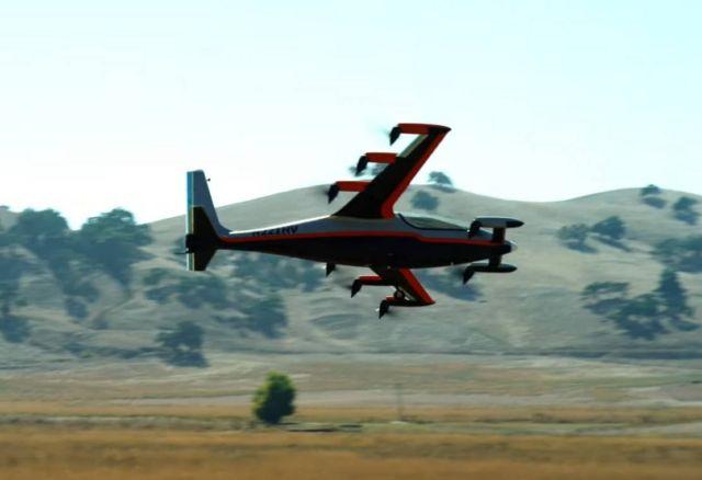 Project Heaviside VTOL by Kitty Hawk (2)
