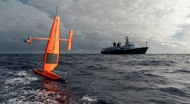 Saildrone USV Completes first Atlantic Crossing