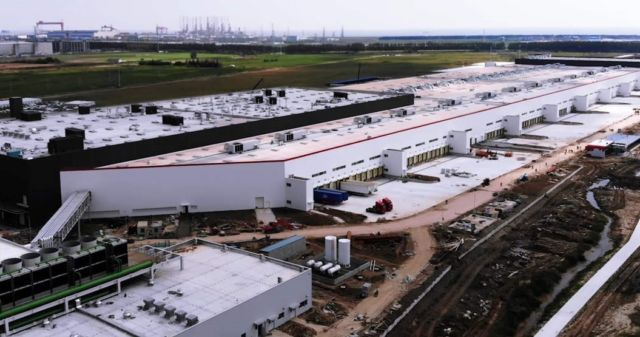 Tesla's new Gigafactory in Shanghai