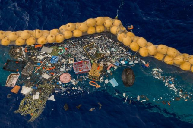 The Ocean Cleanup successfully catches Plastic
