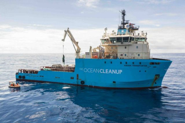 The Ocean Cleanup successfully catches Plastic (3)