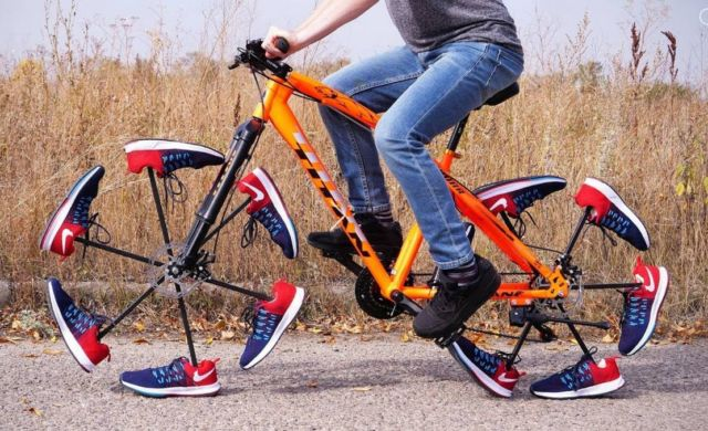 Shoe Bicycle