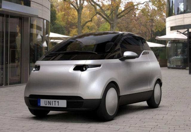 Uniti One three-seater City Car