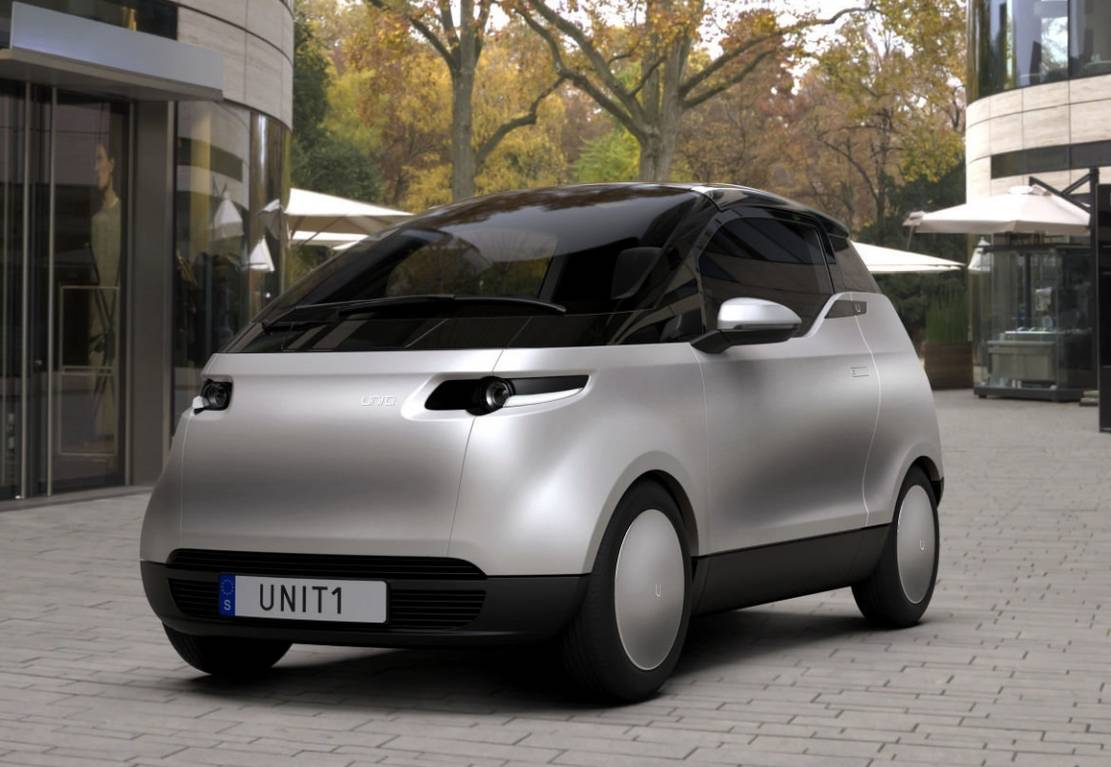 Uniti One three-seater City Car (8)