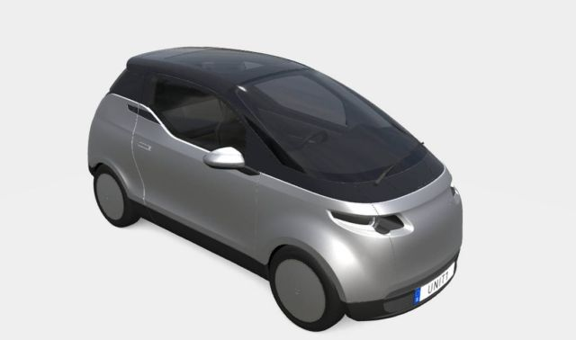 Uniti One three-seater City Car (6)
