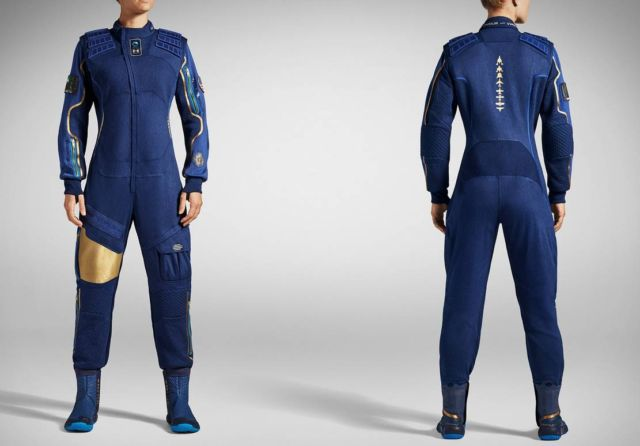 Virgin Galactic x Under Armour Spacesuit