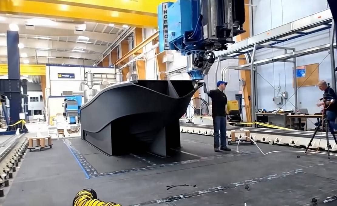 World's Largest 3D Printed Boat