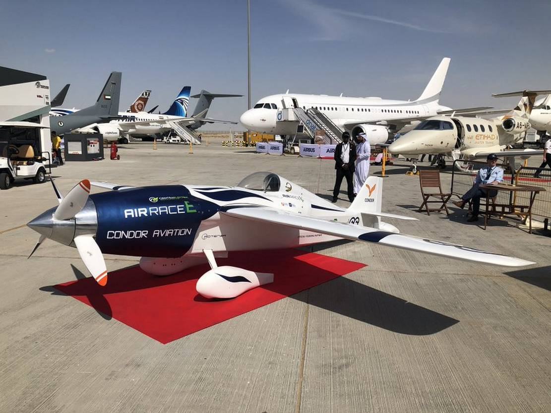All-electric sports aircraft unveiled