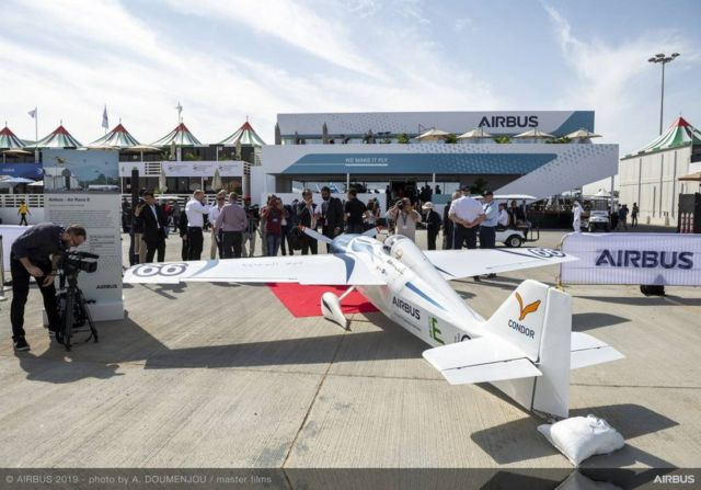 Airbus all-electric sports aircraf