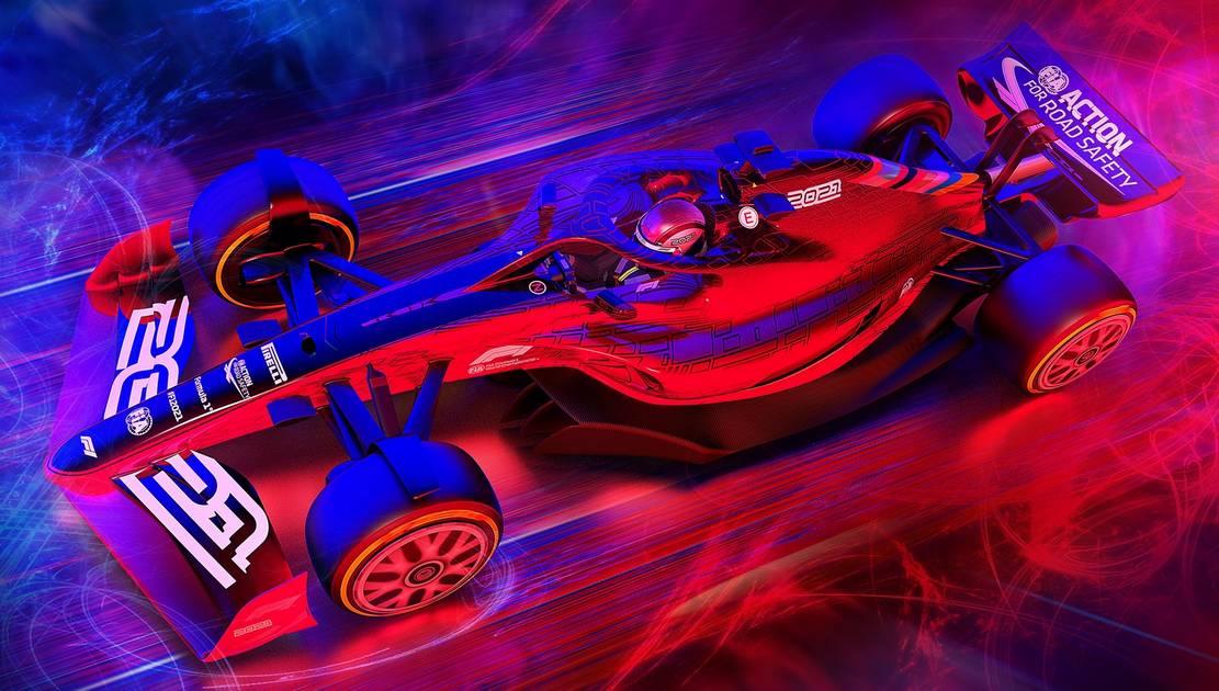 Formula 1's 2021 race car