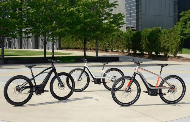 Harley-Davidson first electric bicycles