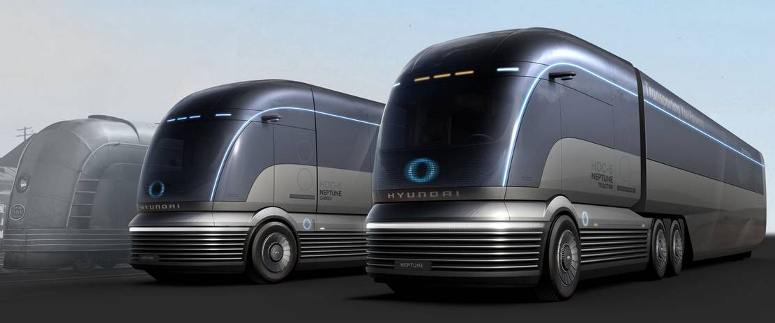 Hyundai Hydrogen-powered Semi-Truck concept (1)