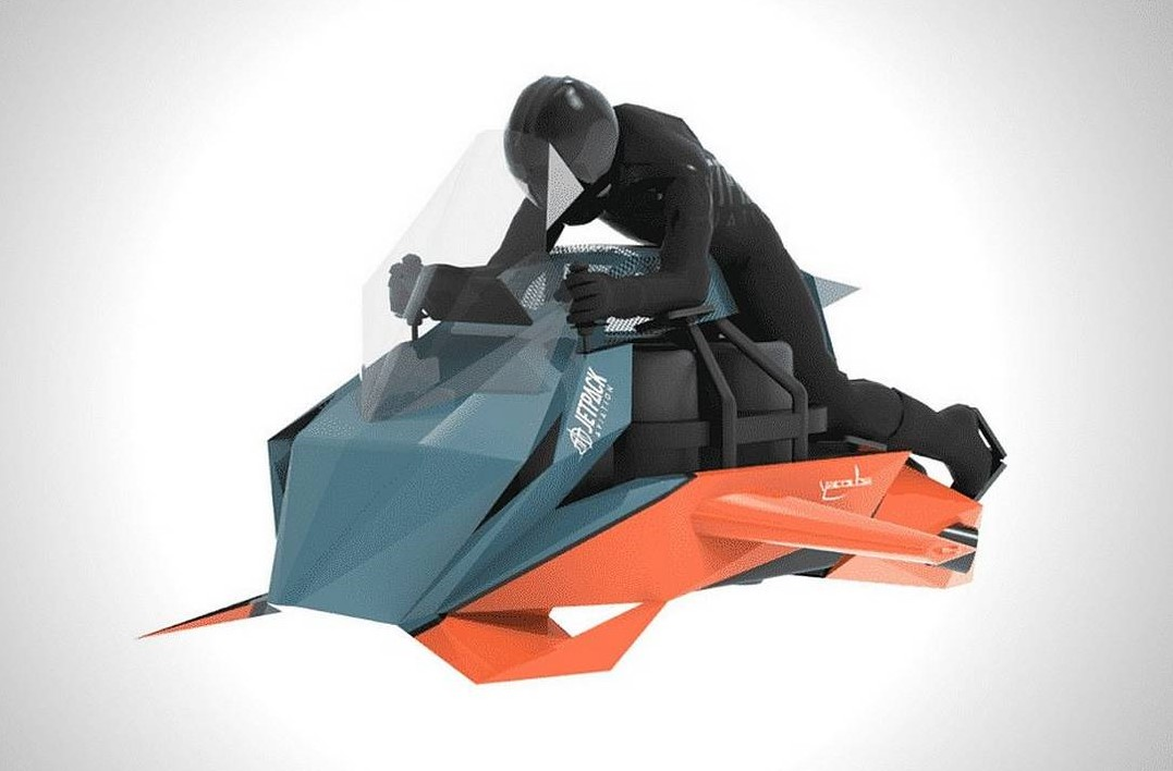 JetPack raises $2million to build Flying Motorcycle