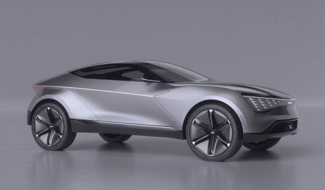 Kia Futuron autonomous electric SUV coupe