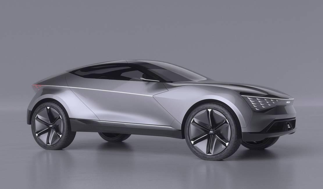 Kia Futuron autonomous electric SUV coupe (5)