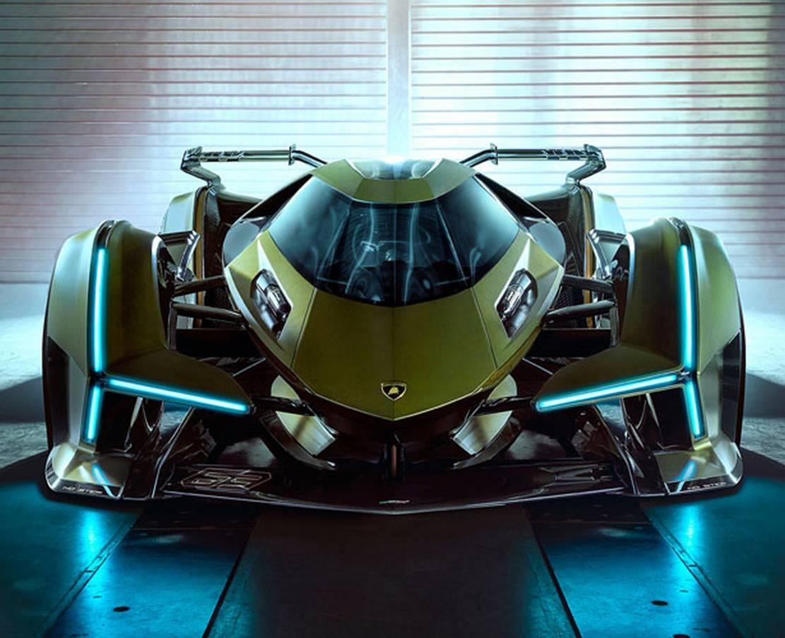 Lamborghini V12 Vision Gran Turismo   wordlessTech