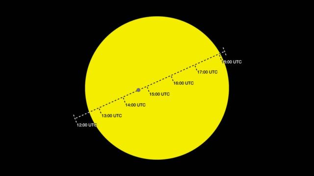 Mercury will cross the face of the Sun (3)