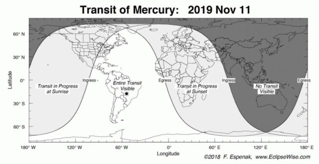 Mercury will cross the face of the Sun (1)