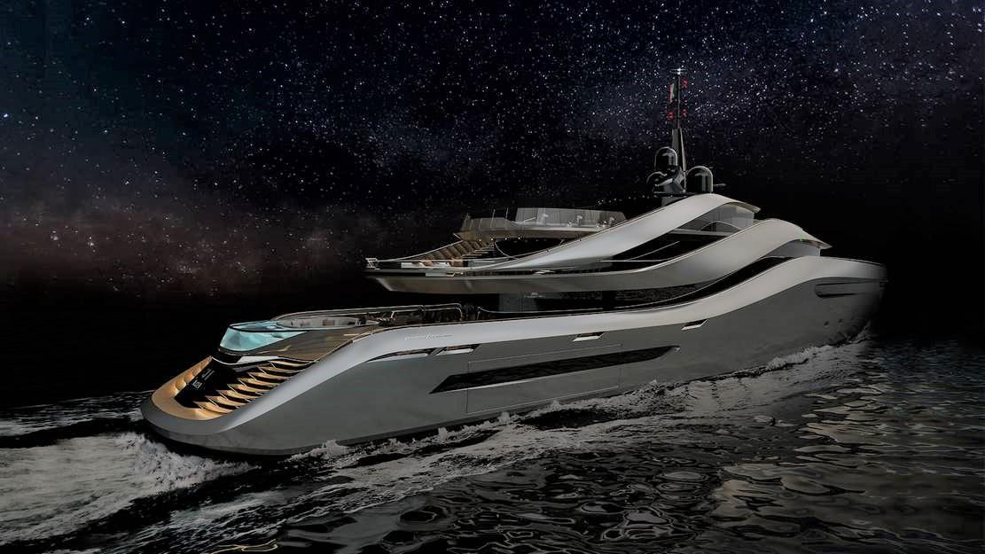 Pininfarina's Aurea 70 meters superyacht