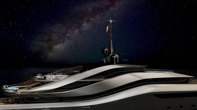 Pininfarina's Aurea 70 meters superyacht (8)
