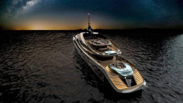 Pininfarina's Aurea 70 meters superyacht (6)