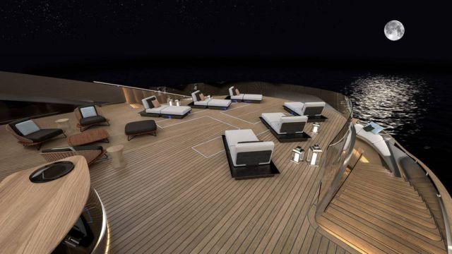 Pininfarina's Aurea 70 meters superyacht (5)