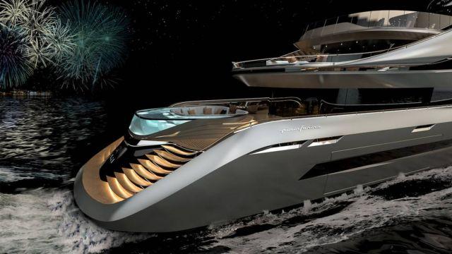 Pininfarina's Aurea 70 meters superyacht (4)