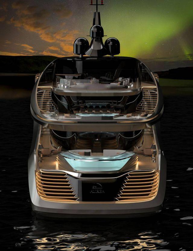 Pininfarina's Aurea 70 meters superyacht (3)